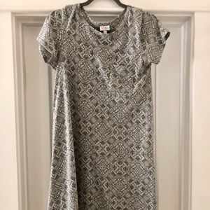 Small gray LuLaRoe Carly dress